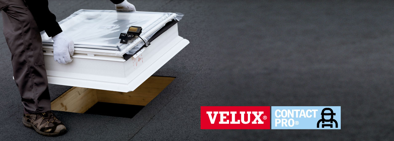 installer une fen tre coup le pour toit plat velux. Black Bedroom Furniture Sets. Home Design Ideas